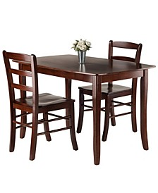 Inglewood 3-Piece Dining Table Set