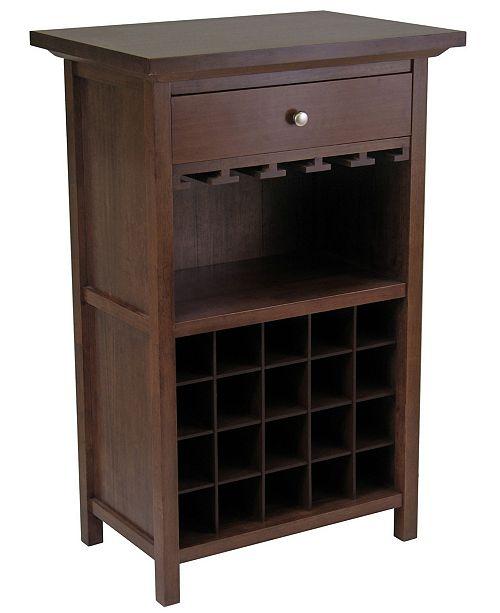 Winsome Chablis Wine Cabinet