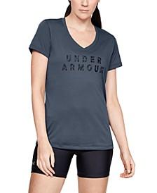 UA Tech Printed-Logo T-Shirt