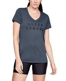 Under Armour UA Tech Printed-Logo T-Shirt
