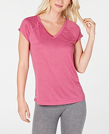 Striped V-Neck T-Shirt, Created for Macy's