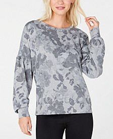 Floral-Print Sweatshirt, Created for Macy's