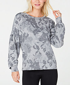 Ideology Floral-Print Sweatshirt, Created for Macy's