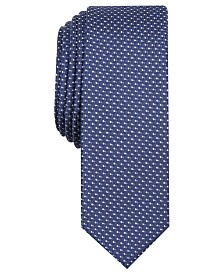 INC International Concepts Men's Precious Metal Micro Neat Skinny Tie