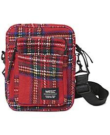 Men's Tartan Crossbody Bag