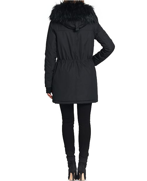 the sale of shoes autumn shoes order S13 Luxe Canyon Faux Fur Trim Hooded Parka Coat & Reviews - Coats ...