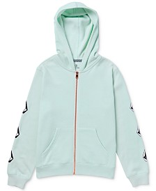 Volcom Big Girls Logo-Print Fleece Hoodie