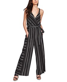 1.STATE Printed Wide-Leg Jumpsuit
