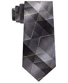 Van Heusen Men's Marine Classic Zig-Zag Stripe Tie