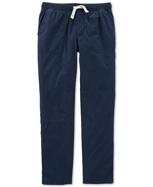 Carter's Little & Big Boys Cotton Drawstring Pants