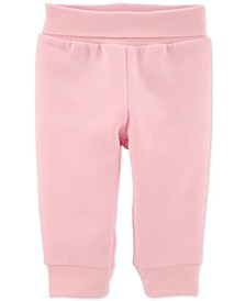 Baby Girls Pull-On Fleece Pants