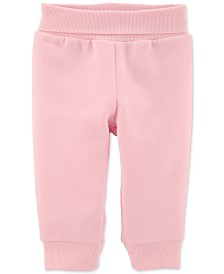 Carter's Baby Girls Pull-On Fleece Pants