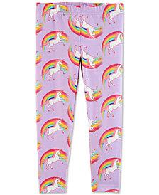 Carter's Toddler Girls Rainbow Unicorn Leggings
