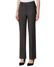 Tahari ASL Straight-Leg Career Pants
