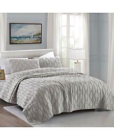 California Design Den Cotton 3-Piece Quilt Set, King