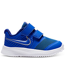 Nike Toddler Boys Star Runner 2 Stay-Put Closure Running Sneakers from Finish Line