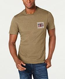 International Steve McQueen  Men's Flag T-Shirt, Created For Macy's