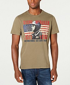 International Steve McQueen Men's ISDT Profile T-Shirt, Created For Macy's
