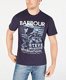 International Steve McQueen  Men's Collage T-Shirt, Created For Macy's