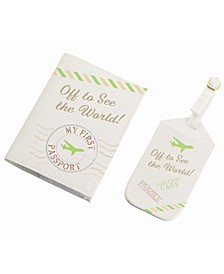 World Luggage Tag and Passport Set