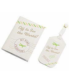 Lillian Rose World Luggage Tag and Passport Set