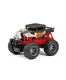 1:15 Scale RC Car Hot Wheels Monster Truck Bone Shaker
