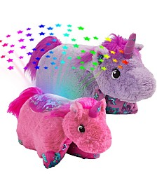 Pillow Pets Unicorn Sleeptime Lite Slumber Pack Plush Toy