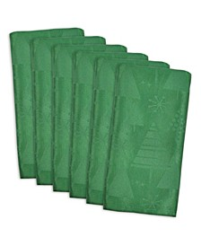 Holiday Trees Napkin, Set of 6