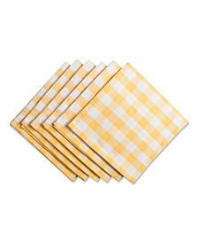 Checkers Napkin, Set of 6