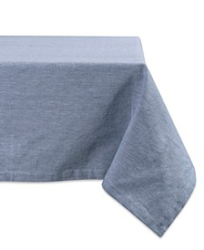 """Solid Chambray Tablecloth 60"""" x 120"""""""