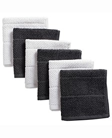 Assorted Mineral Basic Chef Terry Dishcloth, Set of 6