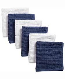 Assorted French Basic Chef Terry Dishcloth, Set of 6