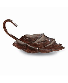 DecoFlair Candle Holder - Metal Leaf