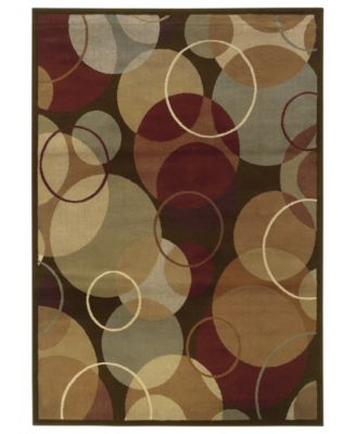 "CLOSEOUT! Area Rug, Pember 2066D Bubbles 5'3"" x 7'3"""