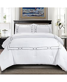 Superior Kensington 3 Piece Bedding Set - Full/Queen