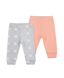 The Peanutshell Baby Girl 2 Pack Pants Set
