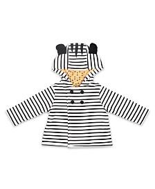 The Peanutshell Baby Unisex Zebra Jacket