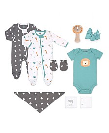 Ps By The Peanutshell Baby Unisex 10-Piece Layette Gift Set