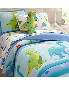 Dinosaur Land Twin Lightweight Comforter Set