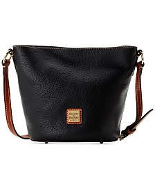 Dooney & Bourke Pebble Leather Thea Mini Crossbody
