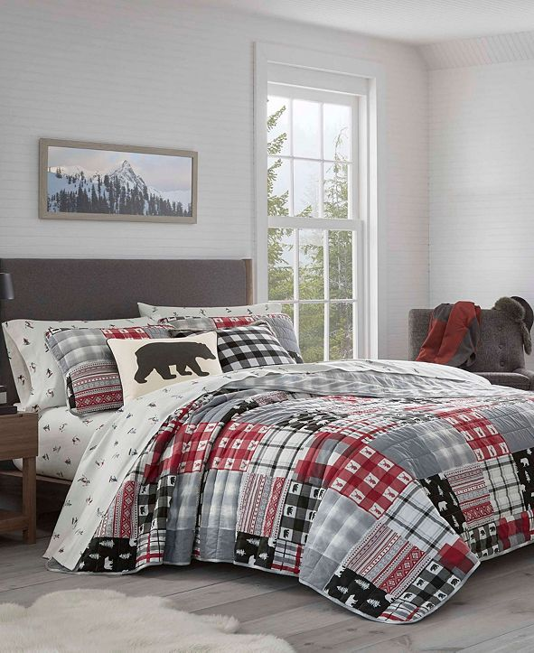 Eddie Bauer Mount Baker Quilt Set, Full/Queen