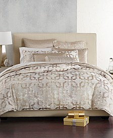 Fresco King Duvet Cover, Created for Macy's