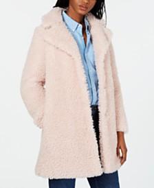 I.N.C. Faux-Fur Coat, Created for Macy's