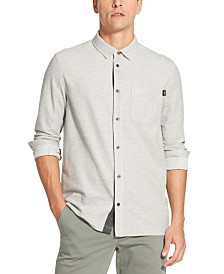 DKNY Men's Moisture-Wicking Piqué Shirt