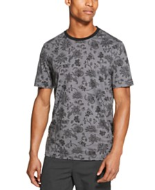 DKNY Men's Floral Graphic T-Shirt