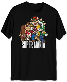 Super Mario Group Men's Graphic T-Shirt