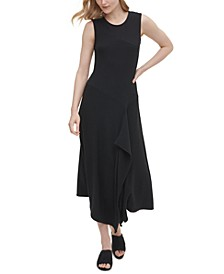 Asymmetrical Textured Dress