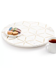 Hotel Collection Hexagon Lazy Susan, Created For Macy's