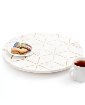 Closeout! Hotel Collection Hexagon Lazy Susan, Created for Macy's