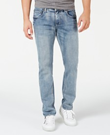 I.N.C. Men's Gerald Slim, Straight Jeans, Created for Macy's